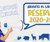 Abiertas Reservas Curso 2020-21