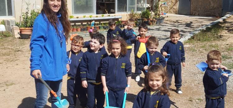Visita de la Escuela Infantil Minerva