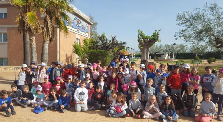 Los alumnos de La Salle Paterna nos visitan