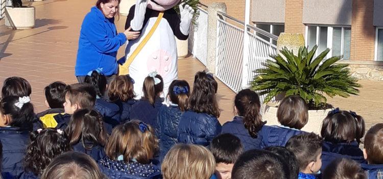 Visita del Colegio San Cristo Rey de Benifaió