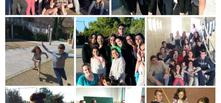 Durante la semana de Pascua nos visitanlos grupos: Active English Camp, Endavant y La Salle Talavera.