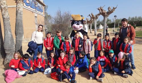 El Colegio San Antonio de Padua I visita la Granja Escuela