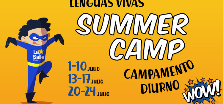 Summer Camp, el campamento de Lenguas Vivas
