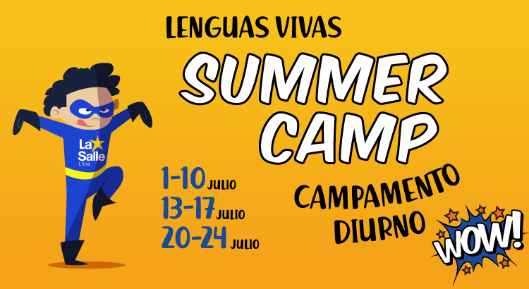 Summer Camp, el campamento de Lenguas Vivas