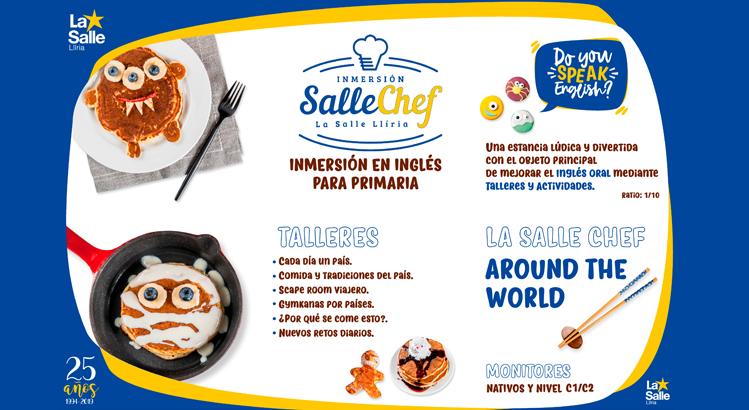 SALLECHEF AROUND THE WORLD  COMIDAS DEL MUNDO